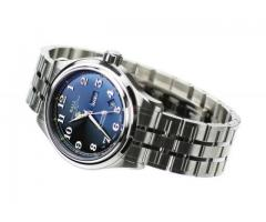 BALL Trainmaster Cleveland Express Watch Blue Steel Bracelet COSC