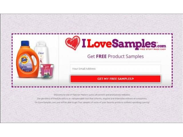 Get Samples of Your Favorite Products