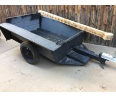 Scrap metal trailer (Berthoud)