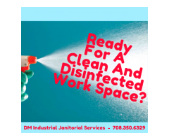 Ready For A Clean And Disinfected Work Space?