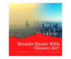 Breathe Easier With Cleaner Air!