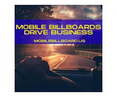Mobile Billboards Drive Business