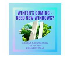 WINTER'S COMING – NEED NEW WINDOWS?