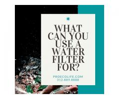 What Can You Use A Water Filter For?
