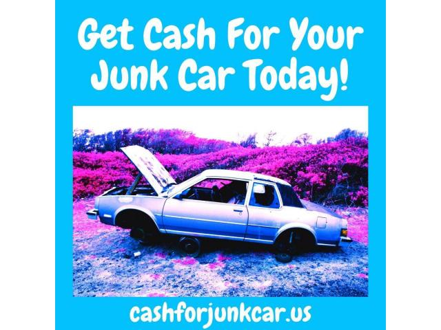 Get Cash For Your Junk Car Today